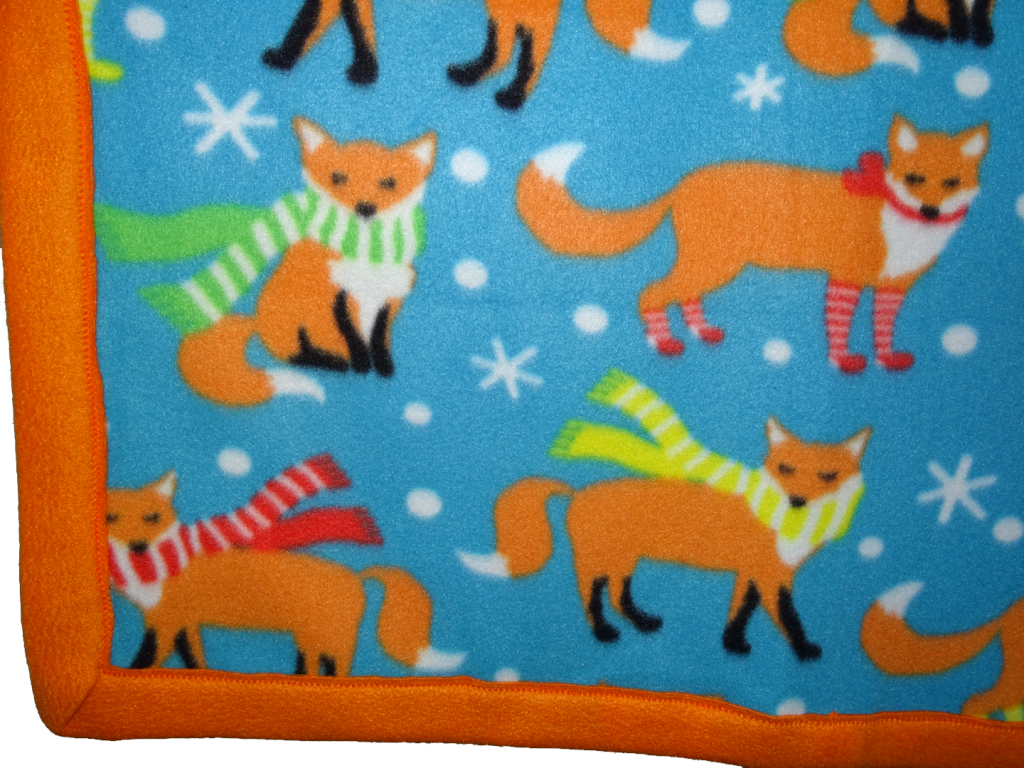 Sleepy Like A Fox Cozy Sleep & Play Blanket